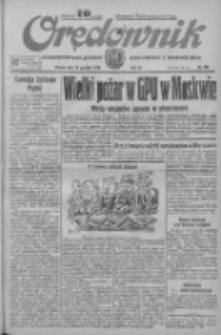 Orędownik: ilustrowane pismo narodowe i katolickie 1933.12.19 R.63 Nr291