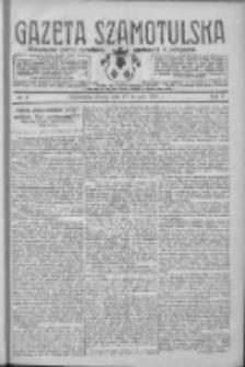 Gazeta Szamotulska: niezależne pismo narodowe, społeczne i polityczne 1928.01.17 R.7 Nr6