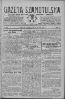 Gazeta Szamotulska: niezależne pismo narodowe, społeczne i polityczne 1928.01.26 R.7 Nr10