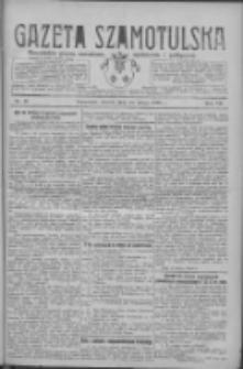 Gazeta Szamotulska: niezależne pismo narodowe, społeczne i polityczne 1928.02.14 R.7 Nr18
