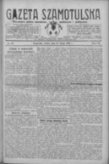 Gazeta Szamotulska: niezależne pismo narodowe, społeczne i polityczne 1928.02.25 R.7 Nr23