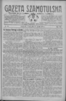Gazeta Szamotulska: niezależne pismo narodowe, społeczne i polityczne 1928.03.20 R.7 Nr33