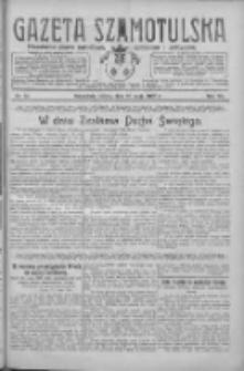 Gazeta Szamotulska: niezależne pismo narodowe, społeczne i polityczne 1928.05.26 R.7 Nr61