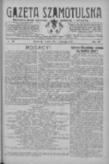 Gazeta Szamotulska: niezależne pismo narodowe, społeczne i polityczne 1928.11.06 R.7 Nr130