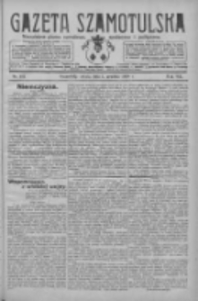 Gazeta Szamotulska: niezależne pismo narodowe, społeczne i polityczne 1928.12.01 R.7 Nr141