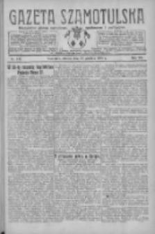 Gazeta Szamotulska: niezależne pismo narodowe, społeczne i polityczne 1928.12.18 R.7 Nr148
