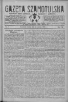 Gazeta Szamotulska: niezależne pismo narodowe, społeczne i polityczne 1929.01.15 R.8 Nr7