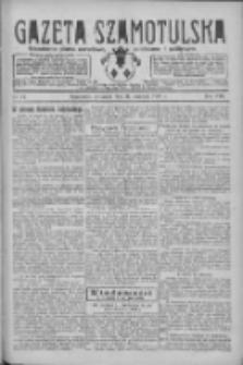 Gazeta Szamotulska: niezależne pismo narodowe, społeczne i polityczne 1929.01.31 R.8 Nr14