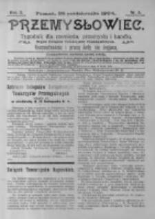 Przemysłowiec. 1904.10.29 R.2 nr5