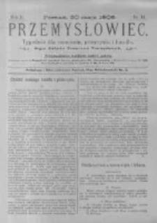 Przemysłowiec. 1905.05.20 R.2 nr34
