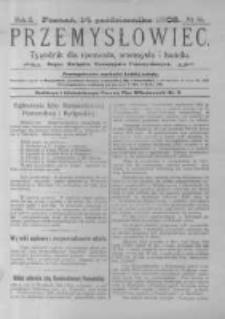 Przemysłowiec. 1905.10.14 R.2 nr55