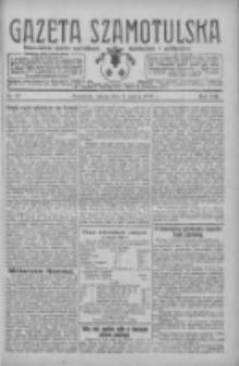 Gazeta Szamotulska: niezależne pismo narodowe, społeczne i polityczne 1929.03.02 R.8 Nr27