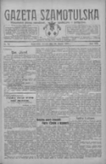 Gazeta Szamotulska: niezależne pismo narodowe, społeczne i polityczne 1929.03.19 R.8 Nr34