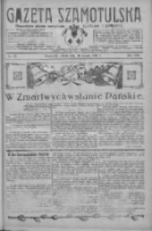 Gazeta Szamotulska: niezależne pismo narodowe, społeczne i polityczne 1929.03.30 R.8 Nr39
