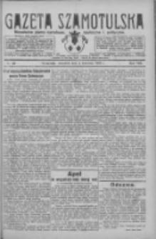Gazeta Szamotulska: niezależne pismo narodowe, społeczne i polityczne 1929.04.04 R.8 Nr40