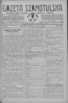 Gazeta Szamotulska: niezależne pismo narodowe, społeczne i polityczne 1929.06.08 R.8 Nr66