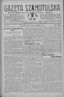 Gazeta Szamotulska: niezależne pismo narodowe, społeczne i polityczne 1929.06.11 R.8 Nr67
