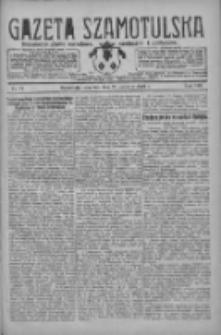 Gazeta Szamotulska: niezależne pismo narodowe, społeczne i polityczne 1929.06.20 R.8 Nr71