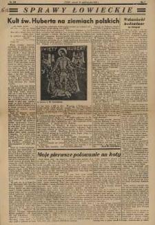 Sprawy Łowieckie; 1935; nr 297; s. 09 [Czas]