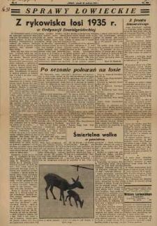 Sprawy Łowieckie; 1935; nr 358; s. 08 [Czas]