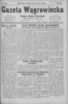 Gazeta Wągrowiecka: pismo ziemi pałuckiej 1932.06.09 R.12 Nr130