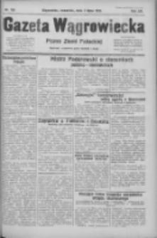 Gazeta Wągrowiecka: pismo ziemi pałuckiej 1932.07.07 R.12 Nr153