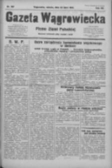 Gazeta Wągrowiecka: pismo ziemi pałuckiej 1932.07.23 R.12 Nr167
