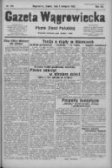 Gazeta Wągrowiecka: pismo ziemi pałuckiej 1932.08.05 R.12 Nr178
