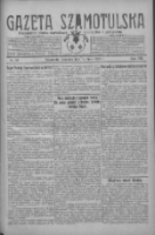 Gazeta Szamotulska: niezależne pismo narodowe, społeczne i polityczne 1929.07.18 R.8 Nr83
