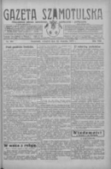 Gazeta Szamotulska: niezależne pismo narodowe, społeczne i polityczne 1929.09.12 R.8 Nr107