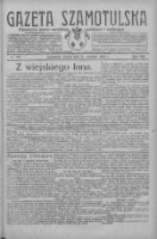 Gazeta Szamotulska: niezależne pismo narodowe, społeczne i polityczne 1929.09.17 R.8 Nr109