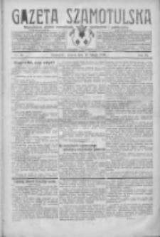 Gazeta Szamotulska: niezależne pismo narodowe, społeczne i polityczne 1930.02.11 R.9 Nr16