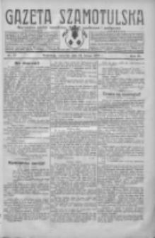Gazeta Szamotulska: niezależne pismo narodowe, społeczne i polityczne 1930.02.13 R.9 Nr17