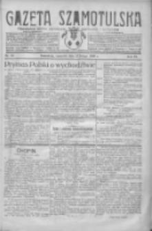 Gazeta Szamotulska: niezależne pismo narodowe, społeczne i polityczne 1930.02.27 R.9 Nr23