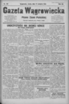 Gazeta Wągrowiecka: pismo ziemi pałuckiej 1932.08.17 R.12 Nr187