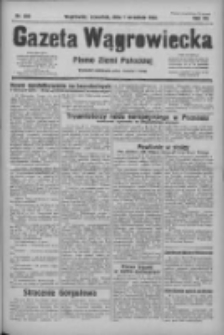 Gazeta Wągrowiecka: pismo ziemi pałuckiej 1932.09.01 R.12 Nr200