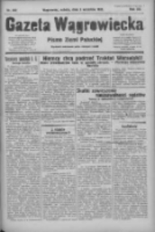 Gazeta Wągrowiecka: pismo ziemi pałuckiej 1932.09.03 R.12 Nr202