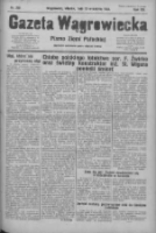 Gazeta Wągrowiecka: pismo ziemi pałuckiej 1932.09.13 R.12 Nr210