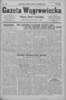 Gazeta Wągrowiecka: pismo ziemi pałuckiej 1932.09.27 R.12 Nr222