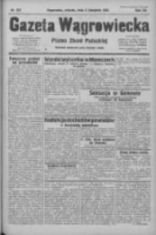 Gazeta Wągrowiecka: pismo ziemi pałuckiej 1932.11.08 R.12 Nr257