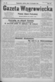 Gazeta Wągrowiecka: pismo ziemi pałuckiej 1932.11.12 R.12 Nr261