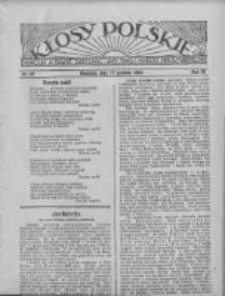 Kłosy Polskie 1933.12.17 R.25 Nr48
