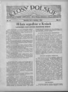 Kłosy Polskie 1934.04.08 R.26 Nr14