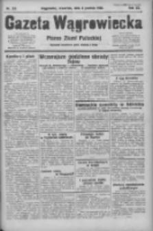 Gazeta Wągrowiecka: pismo ziemi pałuckiej 1932.12.08 R.12 Nr283