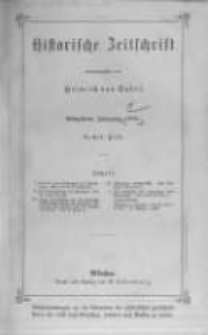 Historische Zeitschrift. 1876 Band 35 Heft 1-2