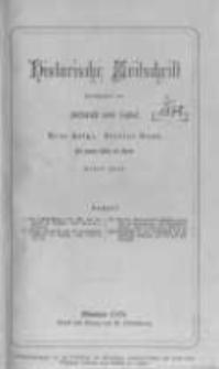 Historische Zeitschrift. 1878 Band 4(40) Heft 1-3