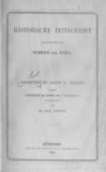 Historische Zeitschrift. 1878. Register zu band 1-36