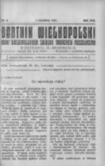 Bartnik Wielkopolski: organ Wielkopolskiego Związku Towarzystw Pszczelniczych 1932.06.01 R.13 Nr6