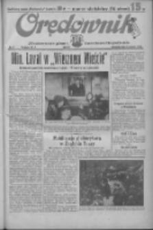Orędownik: ilustrowane pismo narodowe i katolickie 1935.01.06 R.65 Nr5
