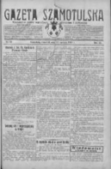 Gazeta Szamotulska: niezależne pismo narodowe, społeczne i polityczne 1930.06.19 R.9 Nr69